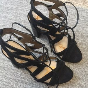 Like new Sam edelman heels - leather, cute